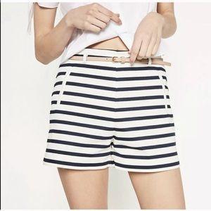 Zara NWT striped shorts size large